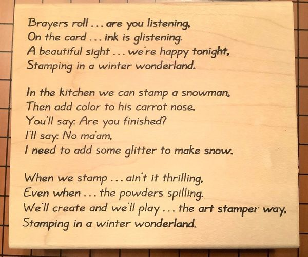 Brayers Roll....Stampers' Christmas Humor