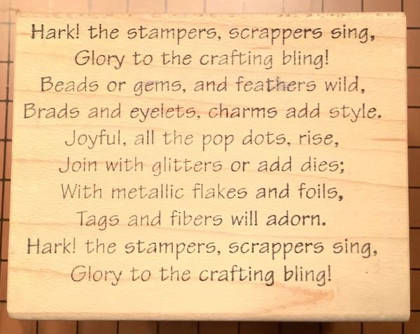 Hark The Stampers...Christmas Humor