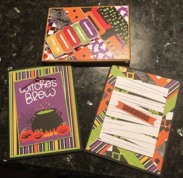 Halloween Card & Box TO GO KIT