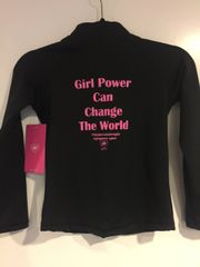 Girl Power Can Change the World Jacket