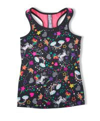Unicorn racer back tank