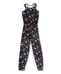 VELVET UNICORN JUMPSUIT