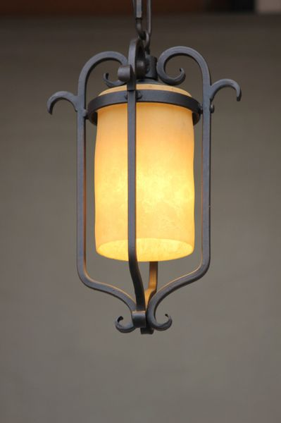 6120 1 Spanish Andalusia Mini Pendant Light Spanish Revival Lighting