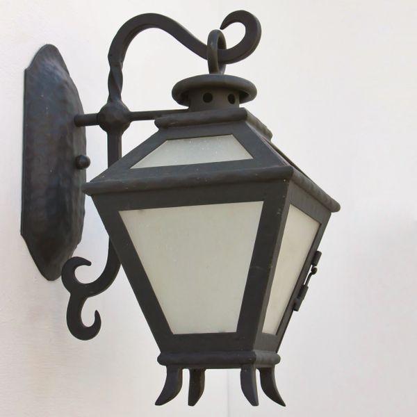 7120 1 Wrought Iron Spanish Outdoor Spanish Revival Lighting