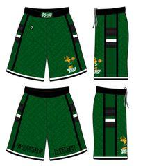 (GREEN) Young Buck Shorts