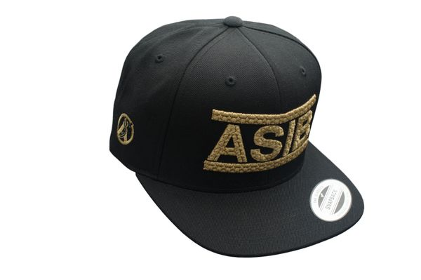 ASIB BLACK/GOLD HATS