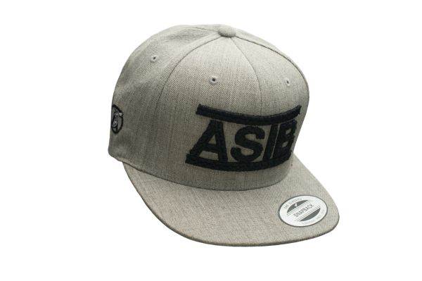 ASIB HEATHER GRAY/BLACK