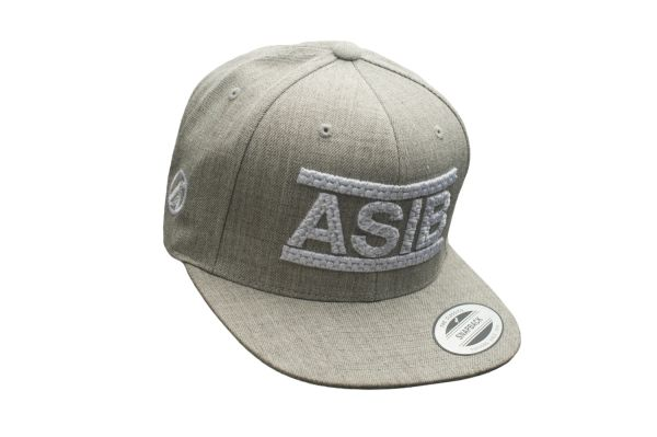 ASIB HEATHER GRAY/WHITE