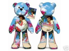 ELVIS PRESLEY BEAR #02 Elvis Presley Plush Collectible Bear - ALOHA FROM HAWAII