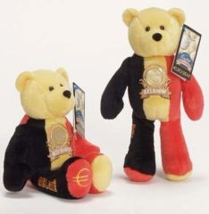 EURO COIN BEAR - BELGIUM Collectible Plush 20 Cent Euro Coin Bear