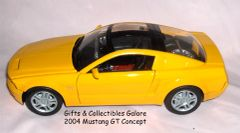 2004 Mustang GT Concept Diecast Collectible Model Car 1:24 Scale Motormax