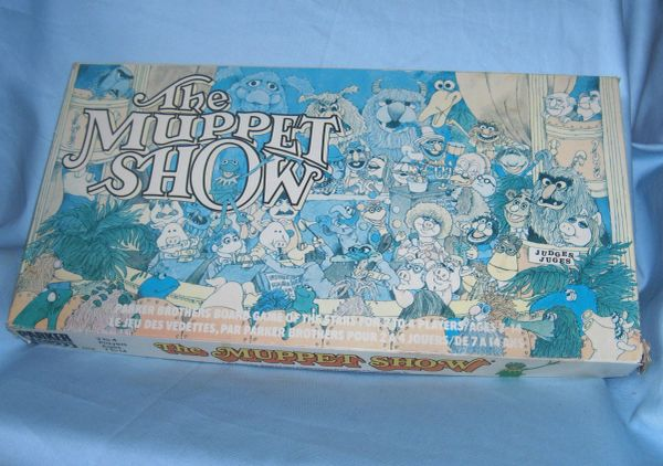 EDUCATIONAL TOYS - Vintage 1970s The Muppet Show Parker Brothers Board Game Complete