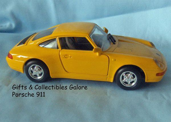 Porsche 911 Collectible Die-cast Model Car 1:24 Scale MOTORMAX