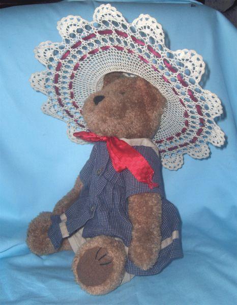 "STUFFED BEAR - Vintage Collectible BOYD'S 14"" TEDDY BEAR - Megan Berriman"