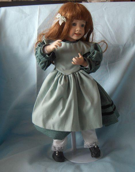 PORCELAIN DOLLS: - Collectible Ashton-Drake Doll & Doll Stand #39368 - Beth