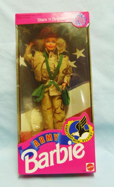 Bambole Fashion Barbie Army Special Edition