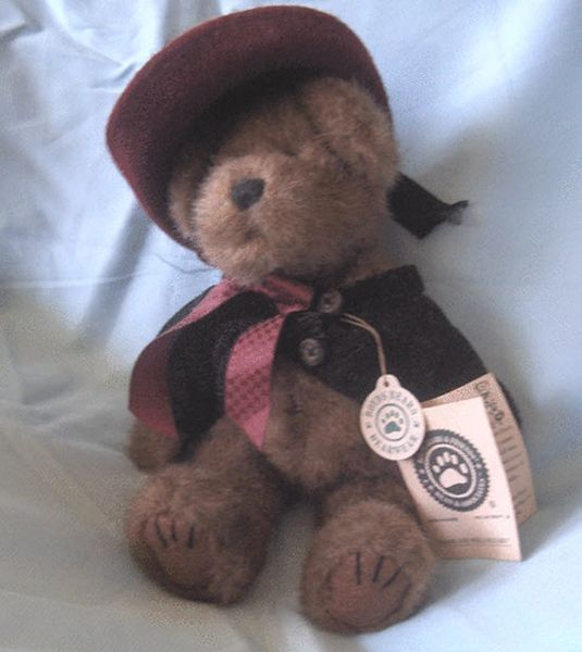 """STUFFED BEAR - Vintage Collectible BOYD'S 10"""" TEDDY BEAR - Madeline Willoughby"""