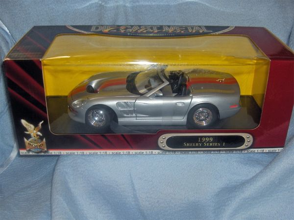 1999 SHELBY SERIES I Diecast Collectible Model Car 1:18 Scale Deluxe Edition Road Signature