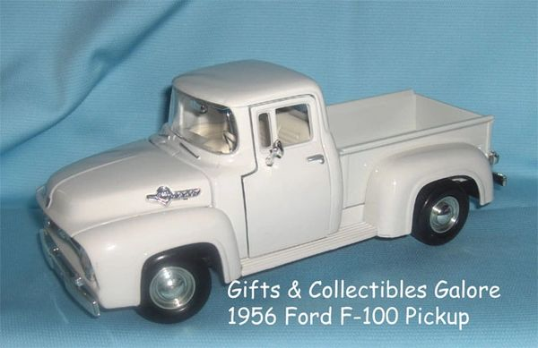 1956 Ford F-100 Diecast Collectible Model Pick-up Truck Motormax 1:24 Scale