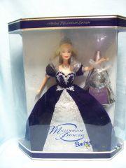 COLLECTIBLE DOLLS: Barbie Millennium Princess 2000 Keepsake Collectible Doll