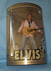 "ELVIS PRESLEY COLLECTIBLE DOLLS: Commemorative Poseable Teen Idol 12"" DOLL 1993 Special Edition"
