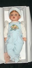 "DUCK HOUSE DOLLS: Retired COLLECTIBLE 22"" Vinyl Boy DOLL Limited Edition - RYAN"