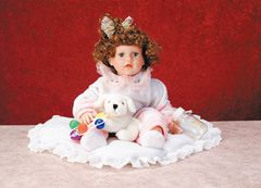 DUCK HOUSE DOLLS: Collectible Limited Edition Duck House Vinyl Doll - ANNETTE