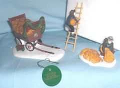 Christmas Village Accessories - Retired Heritage Village Collection - Thatchers
