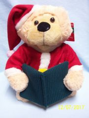 ANIMATED BEAR: Plush Animated Bear telling the Christmas Story by Merry Brite - 'Twas The Night Before Christmas'