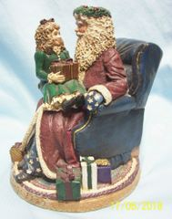 CHRISTMAS DECORATION: Collectible 'Nicholas and Victoria' Figurine Limited Edition CPCA 1995