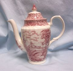 PITCHER: Vintage Ironstone Pitcher by British Anchor - Memory Lane