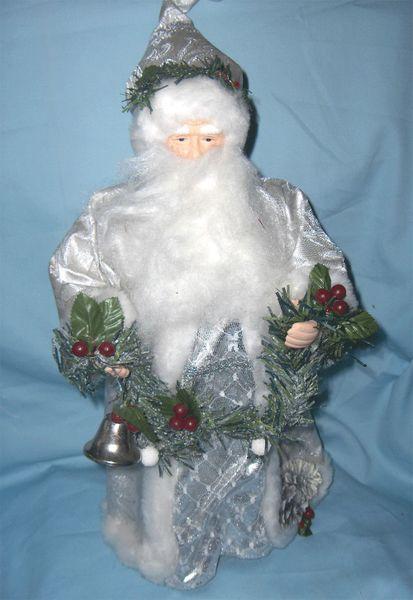 Chistmas Tree Topper Vintage Porcelain Santa Tree Topper Gifts