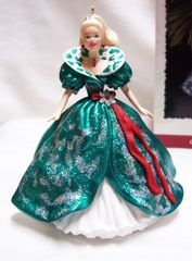 CHRISTMAS ORNAMENT - 1995 BARBIE KEEPSAKE Christmas ORNAMENT Series #3