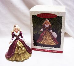 CHRISTMAS ORNAMENT - 1996 BARBIE Keepsake Christmas Ornament Series #4