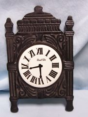 TRIVET: Vintage Old Clock Shape Black Trivet to add to your Kitchen Decor