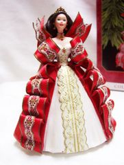 CHRISTMAS ORNAMENT - 1997 BARBIE Christmas ORNAMENT Series #5 Mattel