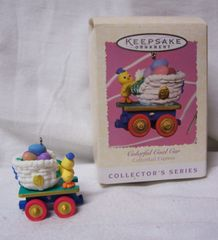 CHRISTMAS ORNAMENT - 1997 Hallmark COTTONTAIL EXPRESS Ornament