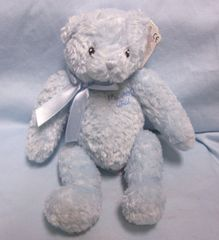 Collectible Blue Baby Gund Soft Plush Teddy Bear - Azul Pequeno Spanish for Blue Child