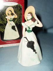 CHRISTMAS ORNAMENT - 1998 HALLMARK Scarlett O'Hara Christmas Tree ORNAMENT