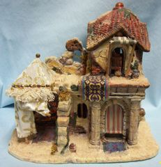 Christmas Village Building: Bethlehem Christmas Porcelain Awesome Detail Building #04