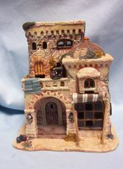 Bethlehem Village Christmas Buliding Member's Mark Hand-painted Porcelain Awesome Detail #01