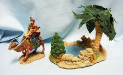 Bethlehem Village Christmas Porcelain Accessories Oasis Man/Camel - Brand: Member's Mark