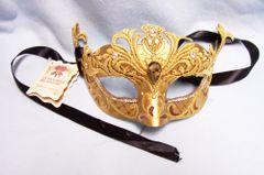 MASK: La Maschera Del Galeone Mask Hand Made Venice Italy Signed by Artist