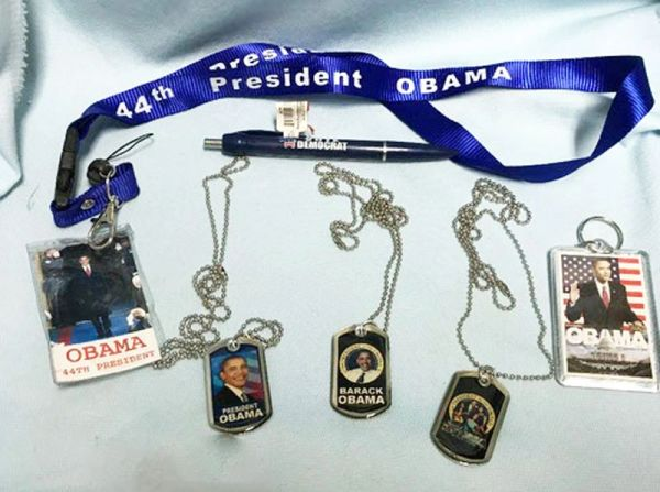 OBAMA MEMORABILIA: Set of 6 - Political Memorabilia of our 44th President Obama