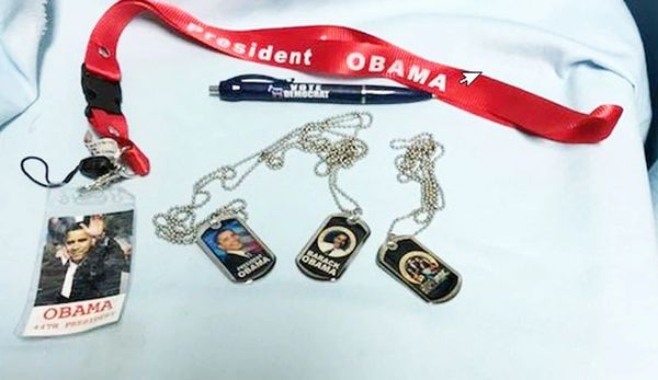 OBAMA MEMORABILIA: Set of 5 Political Memorabilia of our 44th President Obama