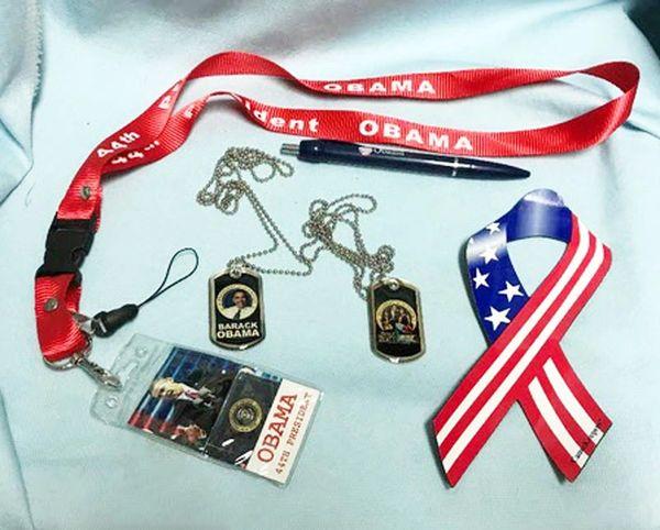 OBAMA MEMORABILIA: Set of 5 Political Memorabilia Items of our 44th President Obama
