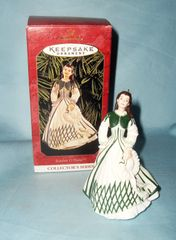 CHRISTMAS ORNAMENT 1999 HALLMARK Scarlett O'Hara Christmas Tree ORNAMENT