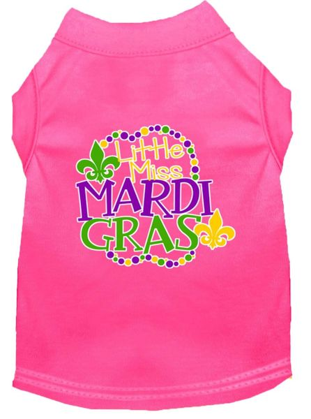 Dog Shirts: Dog Shirt Screen Print in Various Colors & Sizes - LITTLE MISS MARDI GRAS