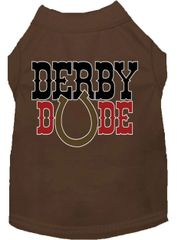 Dog Shirts: Cute Dog Shirt Screen Print in Various Colors & Sizes - DERBY DUDE