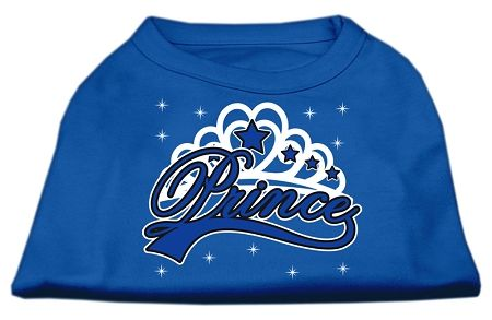 Cute Dog Shirts: I'M A PRINCE Screen Print Dog Shirt in Various Colors & Sizes by Mirage
